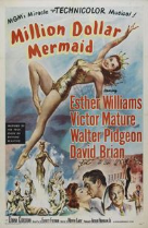 Million Dollar Mermaid 1952 DVD - Esther Williams / Victor Mature